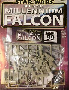 DEAGOSTINI BUILD THE STAR WARS MILLENNIUM FALCON - ISSUE 99  - MAG & PART - NEW