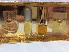 Estee Lauder Fragrance Treasures 4-Piece Miniature Perfume Gift Set for Women