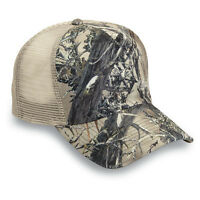 Brand New True Timber Camo Khaki/Tan Trucker Hat Adjustable USA SELLER!