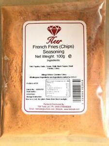 French Fries (Chips, Potato Wedges), Popcorn Seasoning 100g - 1Kg