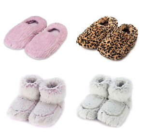 Intelex Warmies ~ Slippers & Boots ~ Microwavable Plush ~ Lavender Scented