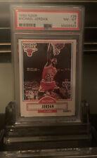 1990-91 Fleer Michael Jordan Card No. 26 PSA 8