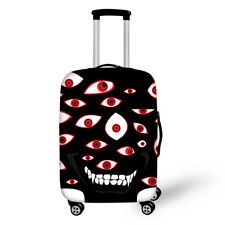 Funny Travel Luggage Cover Suitcase Protective Protector Halloween Holiday Gift