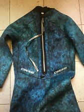 Cressi 2.5mm Mens Blue Hunter Spearfishing Wetsuit Size XXXL Used Once!