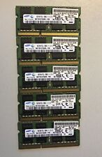 SAMSUNG 8GB RAM DDR3 M471B1G73QH0-YK0 SO DIMM 1600MHz PC3L-12800S 204 Pin DIMM