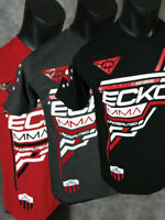 Mens ECKO UNLTD T-Shirt UNDISPUTED MMA FIGHTER in Black Charcoal or Red