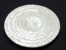 Mother of Pearl Caviar Plate, 5.5 inch Natural Handmade Made in Thailand