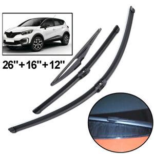 Captur suv 2013-2015 Windscreen Wiper Blade Kit