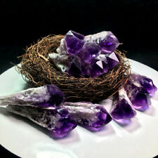 3pcs Natural Amethyst Quartz Crystal Cluster Wand Specimen Healing Geode Druzy