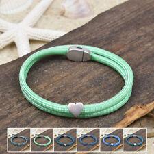 ❦ Armband RENA Paracord Segeltau 4 mm Magnetverschluß Farbe & Größe wählbar ❦