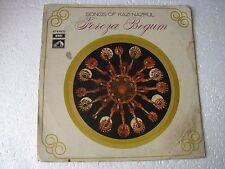 Songs of Kazi Nazrul Feroza Begum EASD 1394 Bengali LP Record India NM-1458