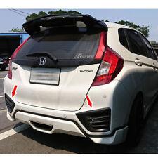 Painted For Honda FIT JAZZ 4DR Rear Bumper Vent Lip Flap Cover Splitter 2pcs