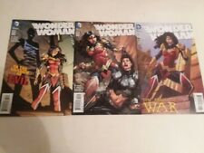 Wonder Woman: New 52 - #44, #45 & #46 + #40 & #42 David Finch - Free Shipping
