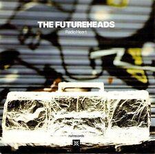 "THE FUTUREHEADS Radio Heart 7"" Single Vinyl Record Blue Vinyl nul 2008 Mint"