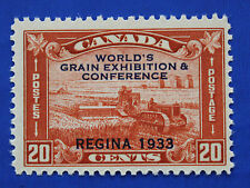 CANADA  (#203) 1933 World's Grain Exhibition & Conference MNH single