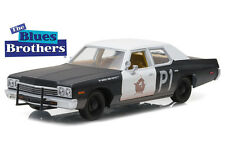 The Blues Brothers 1974 Dodge Monaco Bluesmobile 1 24 Green Chase Version
