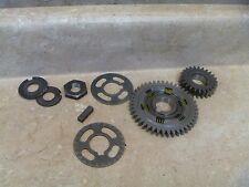 Yamaha 350 YFM WARRIOR YFM350 Used Engine Misc Case Crank Gears 1998 YB104