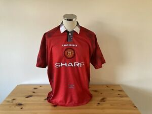Manchester United Home Shirt 1996/1997/1998 Vintage Football Retro