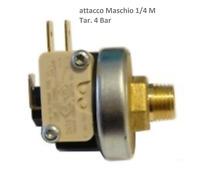 Pressostato MATER attacco 1/8 taratura 4,0 bar - 1 micro - 3 contatti
