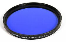 Tiffen 77mm 80A Cooling Color Conversion Filter Color Temperature EX