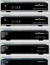 2018  ZGEMMA H7  SOUND FIX Skins EGP AUTO Scan 4K Skin