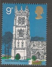 Great Britain #675 (A240) VF MNH - 1972 9p St. Mary the Virgin, Huish Episcopi