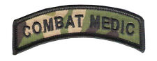 Multi Cam Combat Medic Tab w/wax back / SF Combat Medic / Navy Corpsman / Army