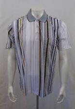 D3 Sergio Louis Men's Medium Silky Smoth Short Sleeve Pullover Golf Shirt