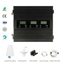 Tri-Band Mobile Signal Booster 850/1900/AWS for 2G 3G  4G  network use in USA