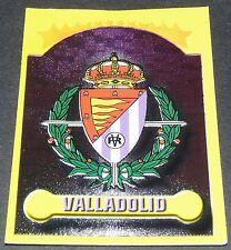 N°210 ESCUDO VALLADOLID LIGA 1999-2000 PANINI FOOTBALL ESPAÑA