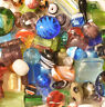 Lampwork Beads, 1 LB  Bulk, Mixed Style & Colors, Handmade Glass