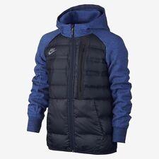 Nike Tech Fleece Aeroloft Big Kids' Boy Jacket Coat Blue 717104-451 Sz M $300