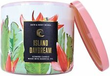 Bath & Body Works ISLAND DAYDREAM 3-Wick Scented Candle NWT 14.5 oz