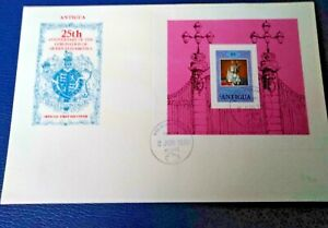 Antigua 1977-78 Three Royal Themed  Covers