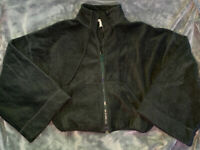 Free People Jacket Black Bell Sleeve Size Small