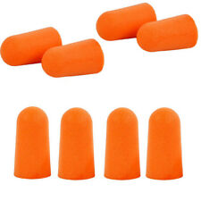NEW 200 Pairs Orange EarPlugs Soft Foam Value Individually Wrapped NRR 32DB