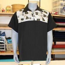 MENS MEDIUM Bowling Shirt Rockabilly Vintage 1950's Retro rock n roll