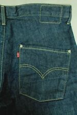 LEVI STRAUSS MEN'S ENGINEERED FIT TWISTED RAW DENIM BLUE JEANS SIZE 34  EUC!