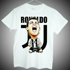 T-shirt of Cristiano Ronaldo juventus soccer star short sleeve tee men gifts