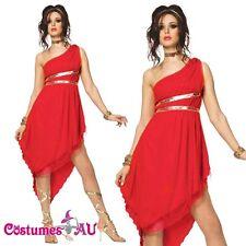 Ladies Roman Toga Robe Greek Goddess Fancy Dress Halloween Hens Night Costume