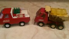 OLD METAL DUMPTRUCK 2¾X 5 INCHES & COKE TRUCK BUDDY L FREE SHIPPING!