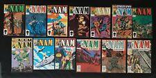 Marvel Comic Books & Magazines The 'NAM Vol 1 No 5 6 7 8 10 11 12 18 19 32 plus