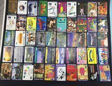 Mixed Lot 50 Australian Used Phonecards Telecom Telstra Phonecard Lot J