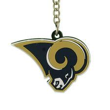 Los Angeles Rams Vinyl Logos Keychains Lot of 6 NIP