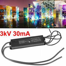3KV 30mA Neon Light Sign Power Supply Electronic Transformer 110-240V 5-25W 60HZ