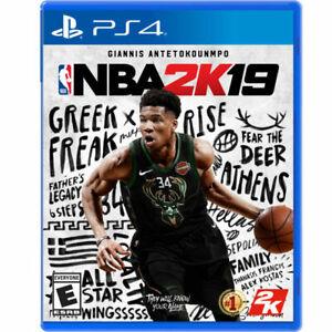 NBA 2K19 (PlayStation 4, 2018) #2143-A2