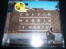 Calvin Harris 18 Months Deluxe Edition (Australia Gold Series) 2 CD - NEW