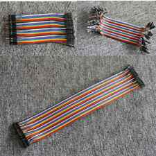 Dupont Cable Jumper Wire 10 20 30cm F-M F-F M-M For Breadboard Arduino