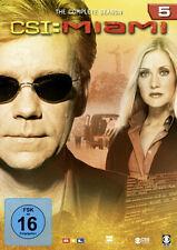 6 DVDs * CSI : MIAMI -  KOMPLETTE STAFFEL / SEASON 5 # NEU OVP §