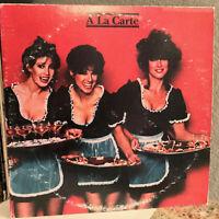 "A LA CARTE Compilation (70's)- Double Album 12"" Vinyl Record LP - EX (Cheesecake"